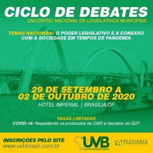 CICLO DE DEBATES – 28/09 A 02/10 – BRASÍLIA/DF
