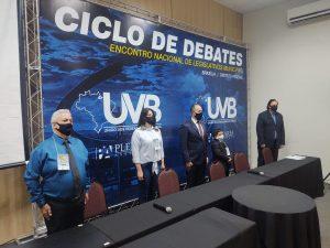 Abertura Ciclo de debates da UVB em Brasília.