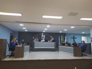 Vereadores de Arroio do Tigre-RS aprovam cinco projetos em Sessão Ordinária de número 1499.