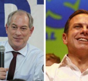 Ciro e Doria usam eleição municipal para costurar alianças em 2022