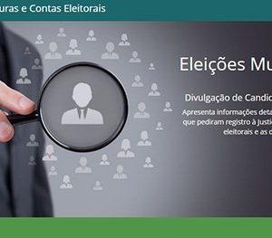 Eleições 2020: sistema de divulgação de candidaturas já está disponível