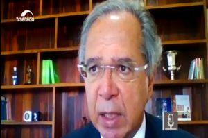 Paulo Guedes detalha gastos contra pandemia na comissão da covid