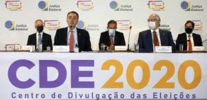 Ao final do 2º turno, presidente do TSE faz balanço das Eleições 2020