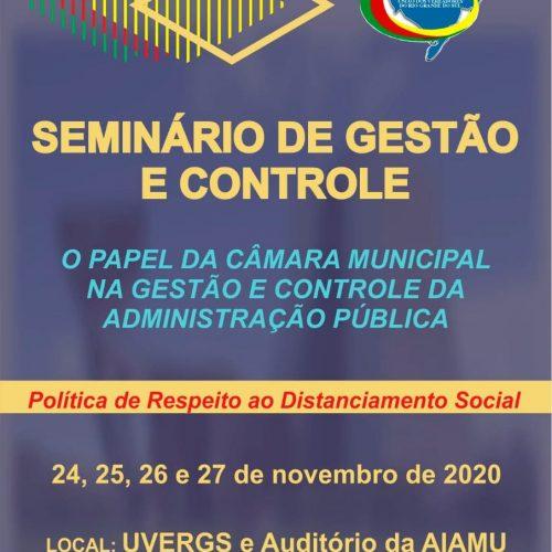 UVERGS promove seminário para Vereadores