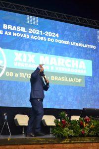 Dr. Danilo Falcão  faz participação no  maior encontro do legislativo municipal em Brasília