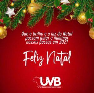 A UVB deseja um feliz natal e um próspero ano novo