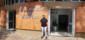 Vereadora Andresa de Souza, a Yê   assume a presidência da Câmara de Encantado-RS