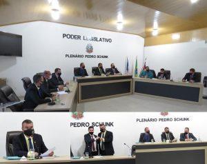 Cezinha Ronchi é eleito por unanimidade para dirigir a Câmara de Marechal Floriano