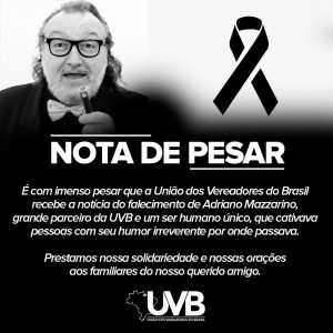 UVB lamenta morte do jornalista e amigo Adriano Mazzarino