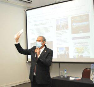 Professor Luís Fernando Machado esteve presente no Encontro Nacional da UVB