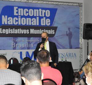 Danilo Falcão debate atribuições típicas e atípicas do poder  legislativo municipal