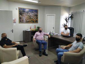 Visita de Candidato a Vice-Presidência UVESC na câmara de Palmitos