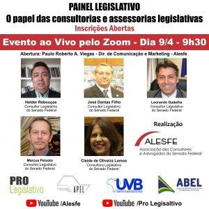 ALESFE E UVB convidam para Seminário de qualificação ao vivo e gratuito