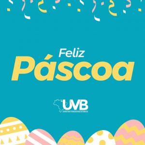 Feliz Páscoa na esperança de dias melhores