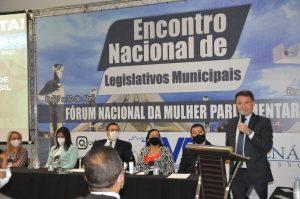 Relator da PEC 32 Deputado Federal, Darci de Matos participa do Encontro Nacional de Legislativos