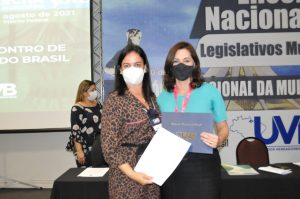 Secretária Nacional de Políticas Públicas para Mulheres  no Fórum Nacional da Mulher Parlamentar da UVB