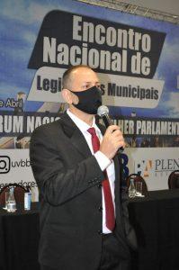 Procurador Jurídico da UVB participa de Encontro Nacional de Legislativos.