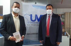 Jurídico da FECAM/RN visita a sede da UVB em Brasília.