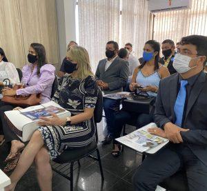 Presidente da UVB recebe comitiva de vereadores da Paraíba