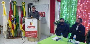 Presidente da UVB participa da cerimônia de posse da nova diretoria da AVASB