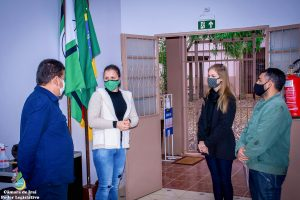 Vereadores  de Iraí/RS visitam escola da rede municipal de ensino