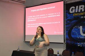 Projeto dignidade menstrual é apresentado   no Giro do Legislativo