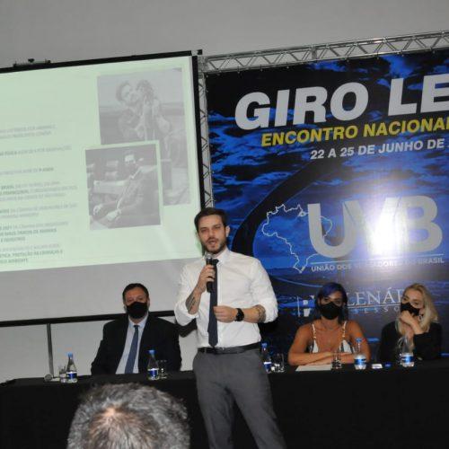 Ativista vereador Felipe Becari participa do Fórum da UVB Animal em Brasília