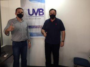 Vereador de Três Lagoas/MS visita a sede da UVB em Brasília.