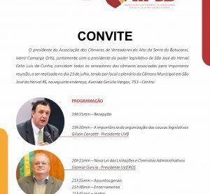 AVASB realiza reunião na Câmara de São José do Herval/RS