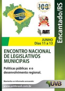V Seminário Nacional de Capacitação Legislativa – De 11 a 13 de Junho