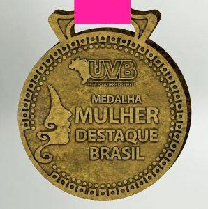 MEDALHA MULHER DESTAQUE BRASIL: Prazo para enviar justificativa encerra dia 17
