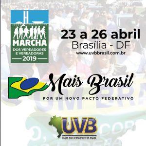 MARCHA DOS VEREADORES E VEREADORAS 2019