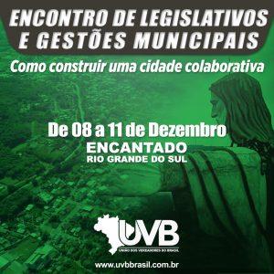 Cidades Colaborativas é o tema principal do encontro nacional de prefeitos e vereadores em Encantado