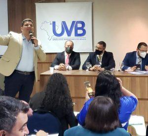 Evento da UVB em Salvador reúne vereadores de todo Brasil