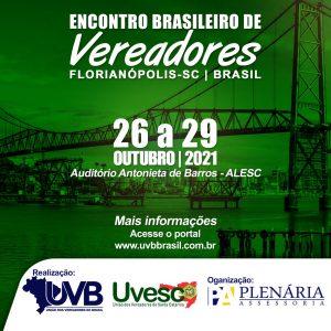 ENCONTRO BRASILEIRO DE VEREADORES EM FLORIANOPOLIS/SC