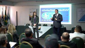 Presidente da UVB participa 9º Congresso de União e Fortalecimento da Vereança em Curitiba/PR