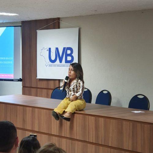 Meirinha de Irecê participa do Encontro Nacional  e Fórum Nacional da Mulher Parlamentar
