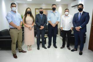 Câmara de Fortaleza/CE, recebe visita do Presidente da UVB