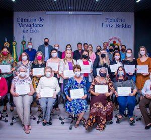 Professores são homenageados com a Comenda do Mérito em Educação  em Iraí/RS