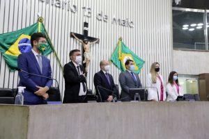 Sessão solene na Assembleia Legislativa homenageia vereadores do Ceará