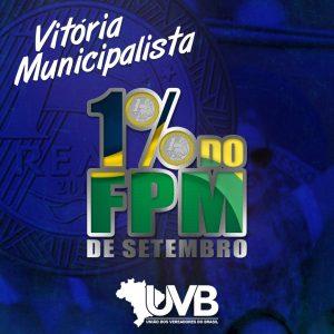 Adicional de 1% do FPM em setembro é aprovado na Câmara em primeiro turno